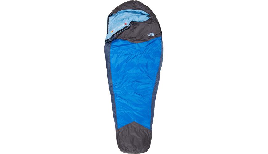 The North Face W's Blue Kazoo Sleeping Bag Reg Blue Coral/Asphalt Grey